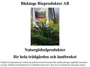 Blekinge Bioprodukter