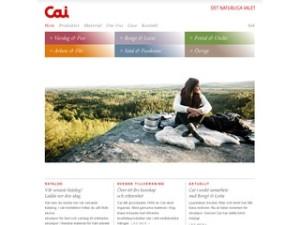 Cai | Delar av produktion