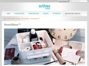 SmartStore | Orthex Group