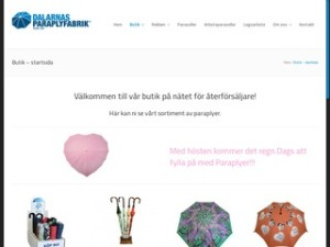 Dalarnas Paraplyfabrik | Delar av sortiment