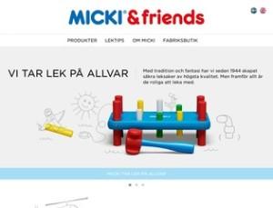 Micki Leksaker | Delar av sortiment