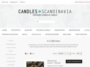Candles Scandinavia