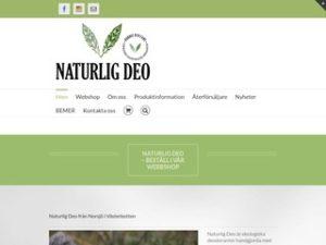 Naturlig Deo   Nordic Eco Care